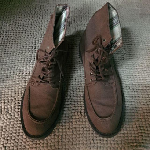 高筒休閒鞋
