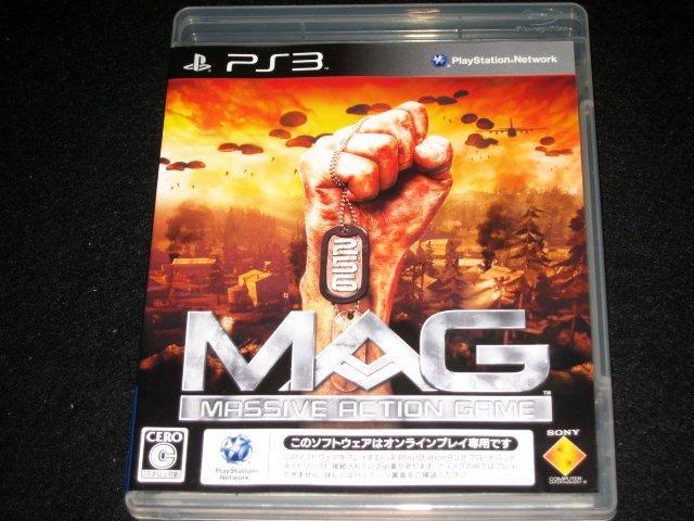 ~ 超新!原裝 PS3 日版經典名作- 107 MAG 非一般廉價亞日.美版喔 ~