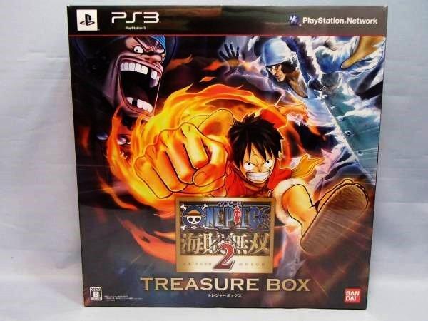 ~ 原裝 PS3 日版經典名作- 海賊無雙 2 寶箱限定版 非一般廉價亞版喔 全新品! 超低破盤價 ~