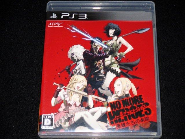 ~ 超新!原裝 PS3 日版經典名作- 英雄不再 英雄們的樂園 非一般廉價亞.美版喔 ~
