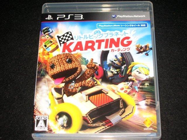~ 超新!原裝 PS3 日版經典名作- 小小大星球 布娃娃也賽車 非一般廉價亞日.美版喔 ~