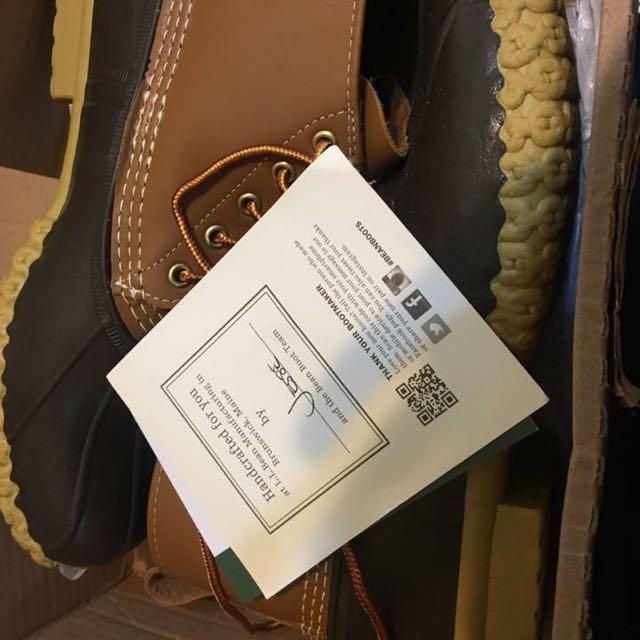 經典中的經典 llbean 獵鴨靴