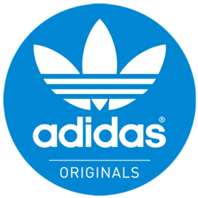 adidas originals logo sticker