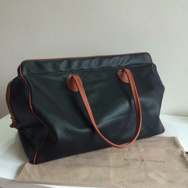 696a3acef85b Authentic Bottega Veneta Vintage Marco Polo Large Luggage Bag ...