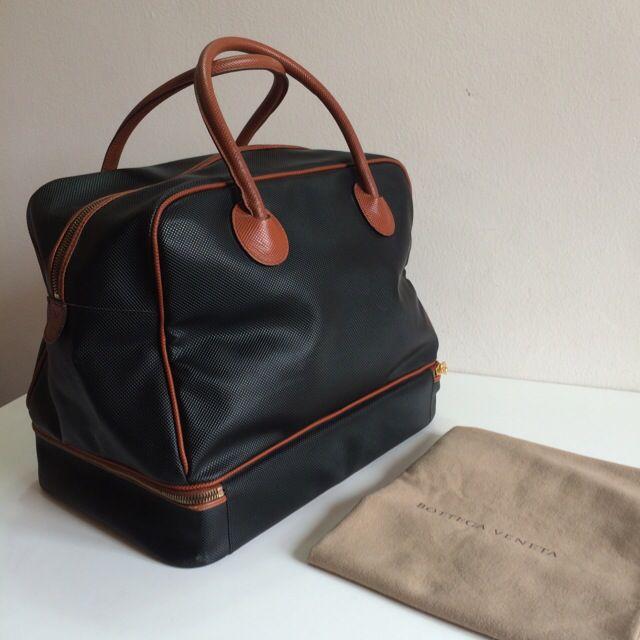 46a4044316ce Authentic Bottega Veneta Vintage Marco Polo Travel Bag