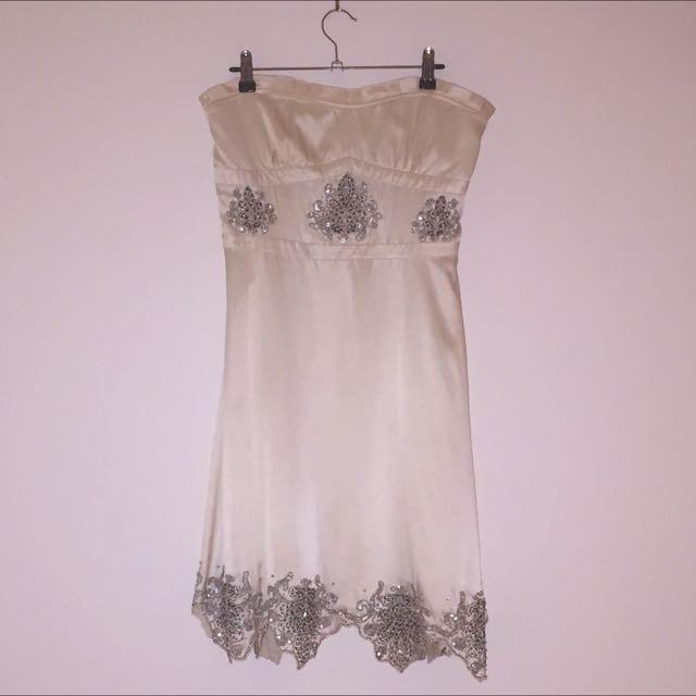 Bare 100% Silk Dress (size M)