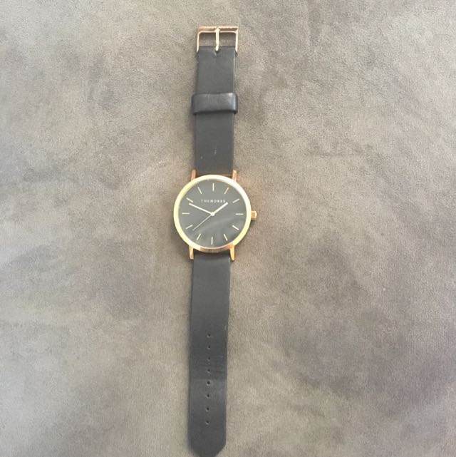 "Black And Rose Gold ""The Horse"" Ladies Watch"