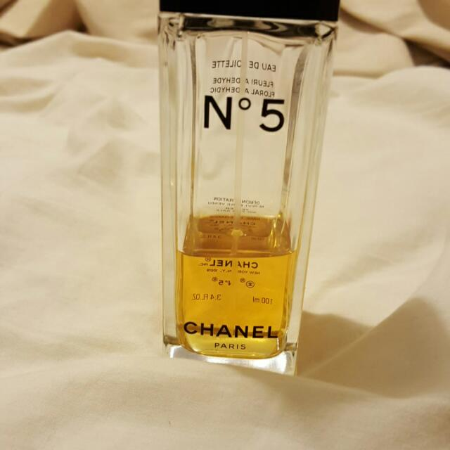 Channel No 5 100ml Bottle There Is Anout 35ml Left