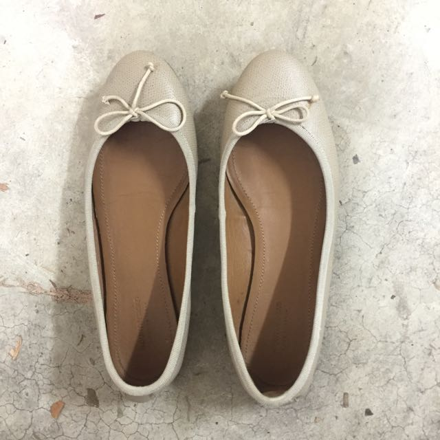 Country road leather flats