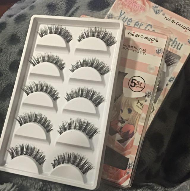 Eyelashes 5 Pairs Per Pack