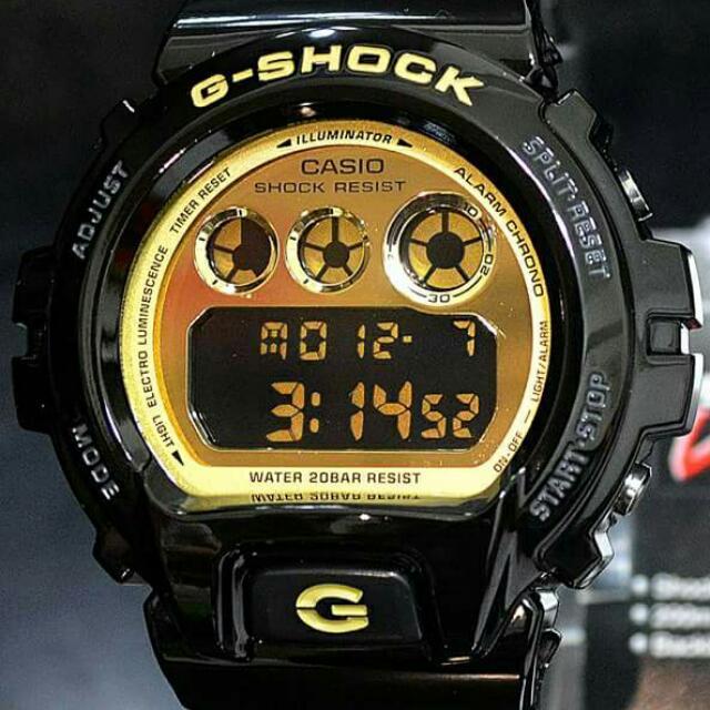 G-SHOCK DW-6900CB-1 黑金