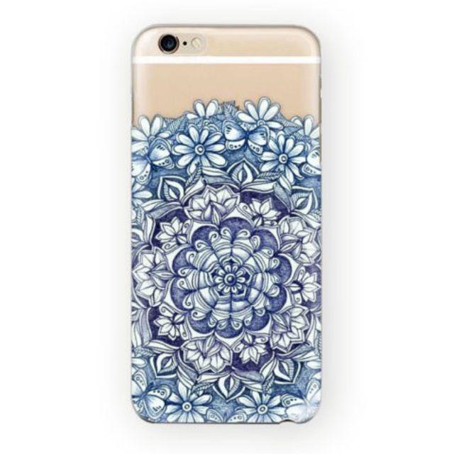 Henna Mandala Paisley floral iPhone Case 5/5S 5C 6/6S Plus