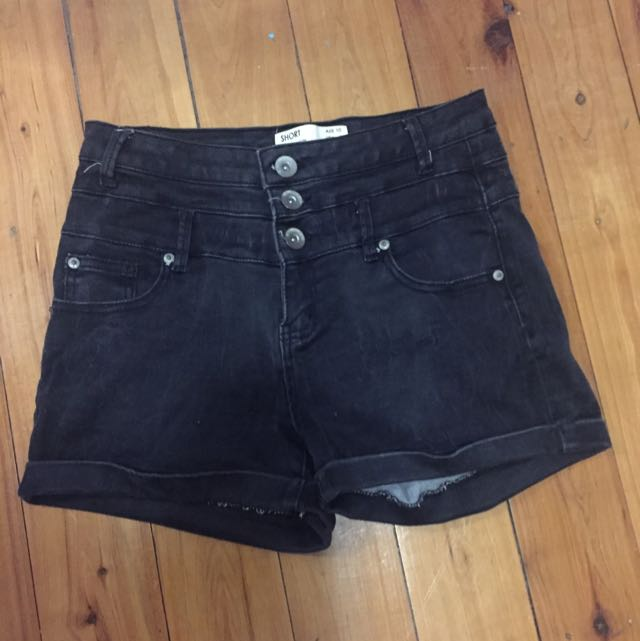 High Waisted Size 10 Shorts