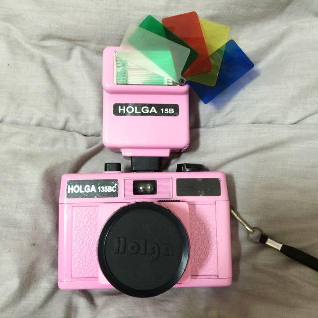 [二手]HOLGA 135BC Lome粉紅色相機