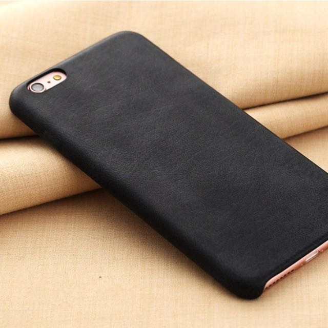iPhone 6/6s iPhone 6/6s PLUS Soft Leather Back Cover Skin Case