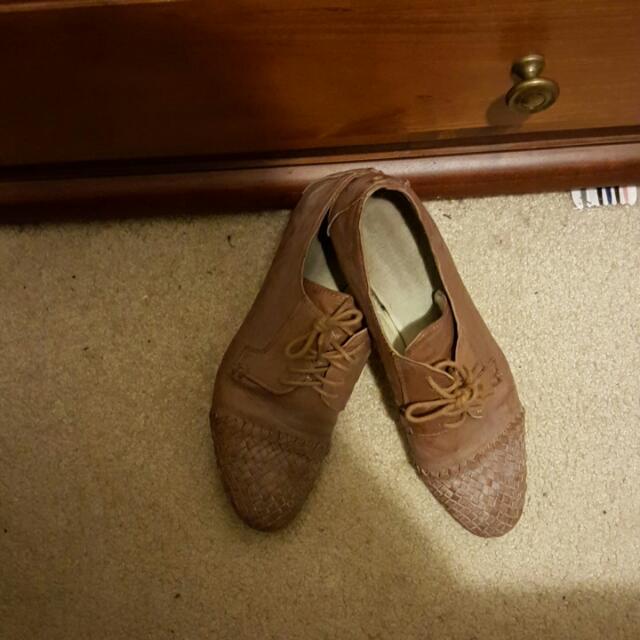 Jo Mercer Leather Brown Shoes Super Comfy
