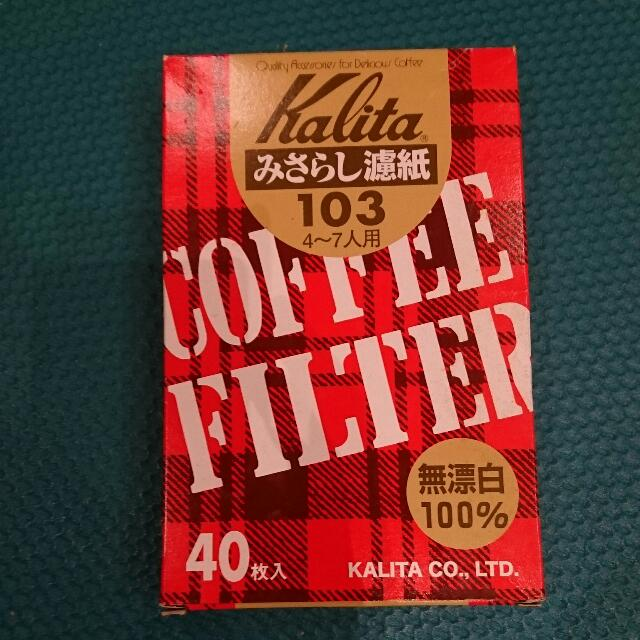 Kalita 咖啡濾紙
