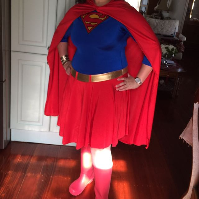 Plus Size Superwomen Costume