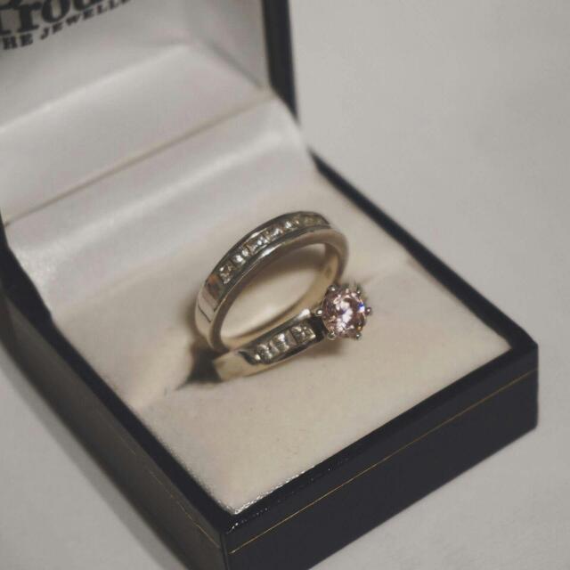 Prouds Cubic Zirconia Ring Set