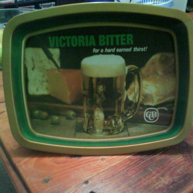 Vintage VB Beer tray (CUB )