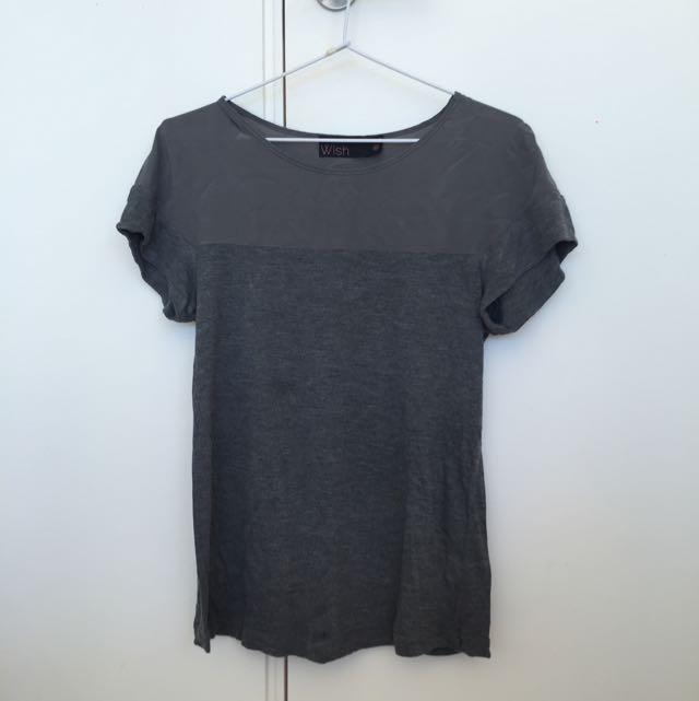 Wish Grey Dress Shirt