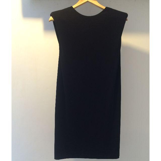 ZARA BASIC Black Backless Dress (BNWOT - Tagless)
