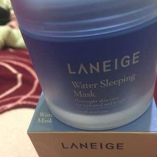 蘭芝—睡美人香氛水凝膜 晚安面膜 睡美人 面膜 新版