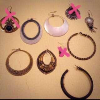 民俗嬉皮 耳環