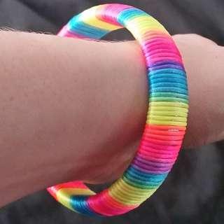 Chunky Rainbow Bracelet