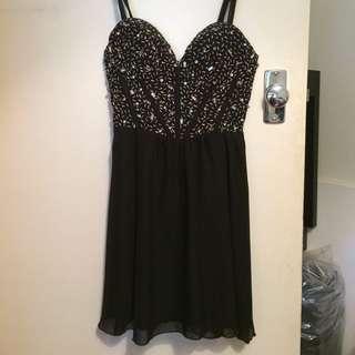 Size 6-8 Beaded Dress