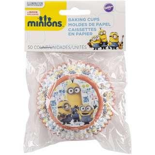 Wilton 415-4600 50 Count Despicable Me Minions Baking Cups, Multicolor