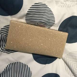 Gold Clutch Evening Bag