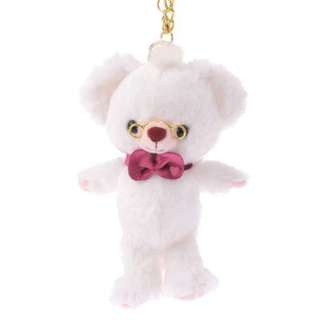 大學熊Unibearsity四月時間兔牛奶金鍊吊飾