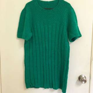Hand Knitted Mohair Dress Size 6-10