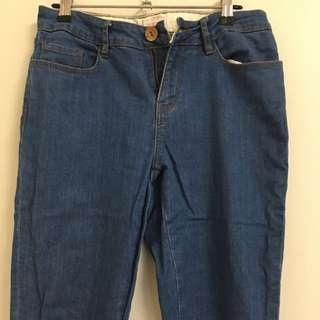 Gorman Ankle Zip Jeans Size 10