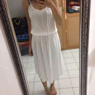 white dress preloved