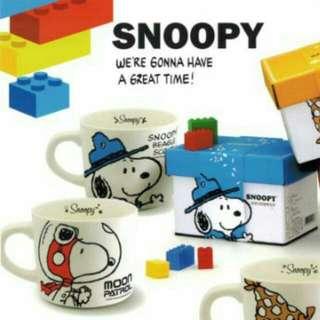 Snoopy史努比湯杯-紅(全新)