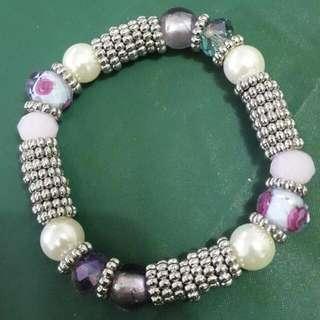 Gelang Ungu Aksesoris Purple Bracelet Accesories