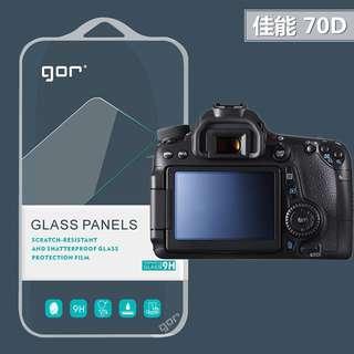 FC商行~Canon 佳能 EOS 70D 80D GOR 9H 相機 螢幕 2片裝 鋼化玻璃貼 玻璃保護貼 保護貼