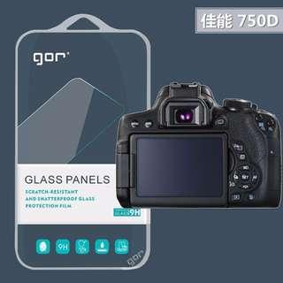 FC商行~Canon 佳能 750D 700D 650D GOR 9H 相機 2片裝 玻璃保護貼 螢幕保護貼 鋼膜