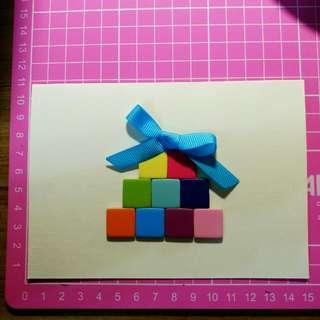 客製化手工卡片