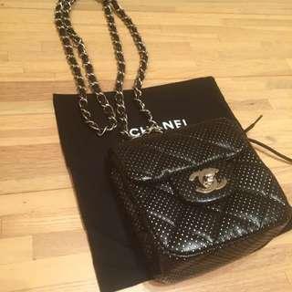 Chanel Perforated Mini Flap Crossbody