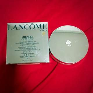 02 Lancôme Miracle Cushion And It's Refill