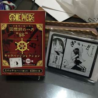 ✨含運✨海賊王-日本限定經典回憶錄徽章