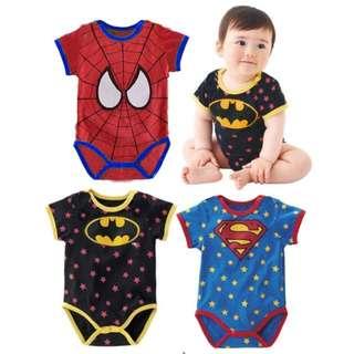 Super Hero Baby Romper/Baby Clothes
