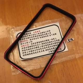 iPhone 6 Plus /6s Plus 小豪保膜 手機保護框 紅