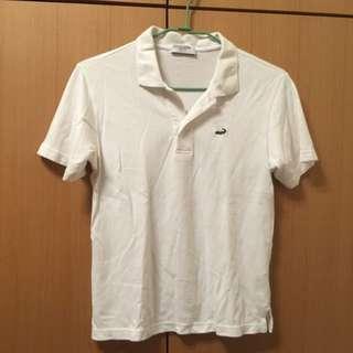 🐊crocodile白色polo衫