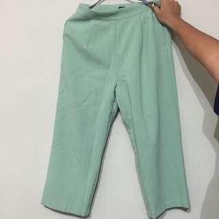 全新休閒寬褲