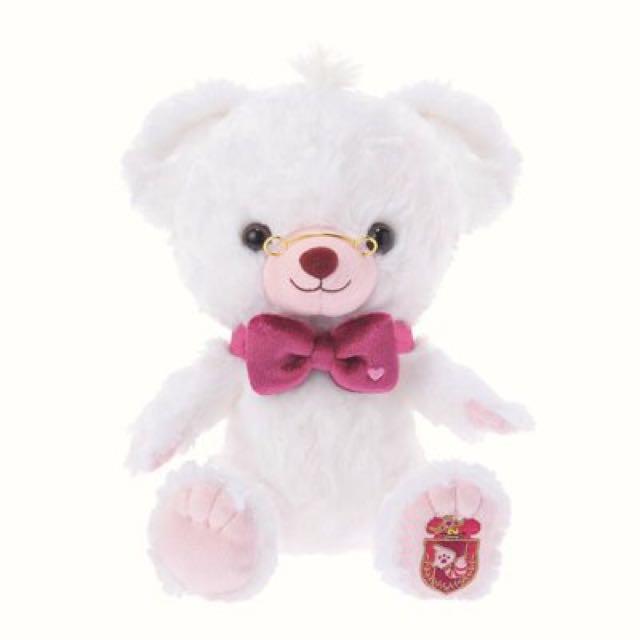 大學熊Unibearsity四月時間兔牛奶SS號玩偶