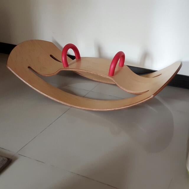 信誼 蹺蹺板 0123感覺統合遊戲寶盒 Easy搖搖馬 二手
